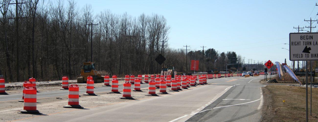 Elkton Rd Maintenance of Traffic